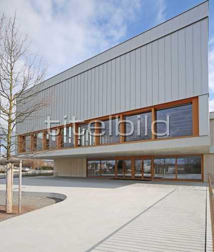 Bild-Nr: 4des Objektes Erweiterung Schulhaus in der Höh