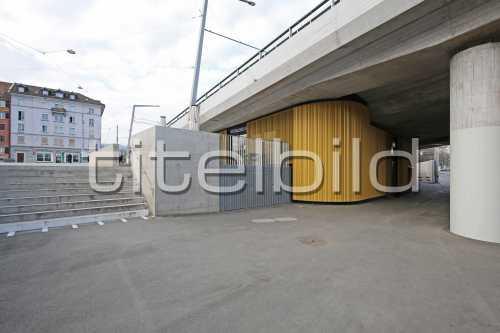 Bild-Nr: 3des Objektes Tramverbindung Hardbrücke Widerlager