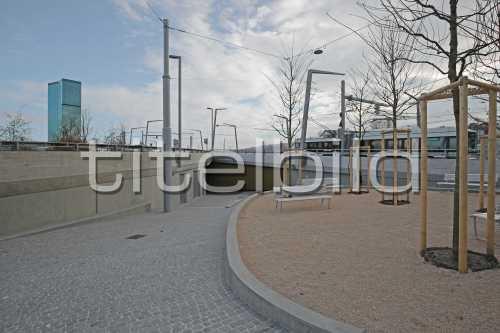 Bild-Nr: 4des Objektes Tramverbindung Hardbrücke Widerlager